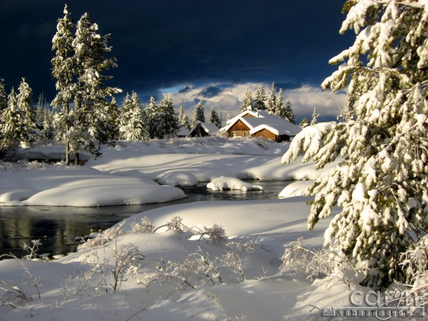 Caryn Esplin - Island Park, Idaho - Elk Creek Lodge Winter