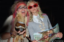 Trelawney & Luna go to the Harry Potter opening!
