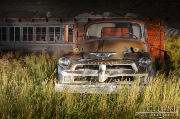 Caryn Esplin - Old Chevy Truck (Original) - Light Painting