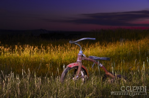 Caryn Esplin - Old Trike Light Painting