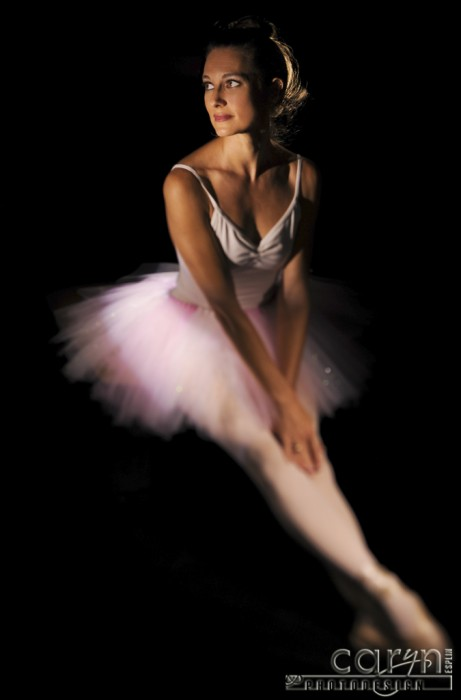 Caryn Esplin - Light Painting the Ballerina
