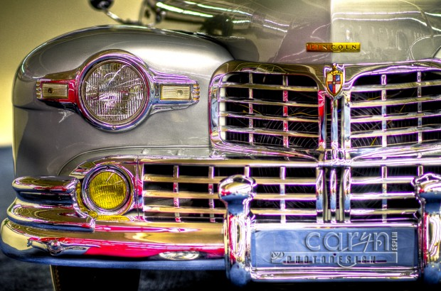 Old Lincoln at the Imperial Palace car show - Vegas