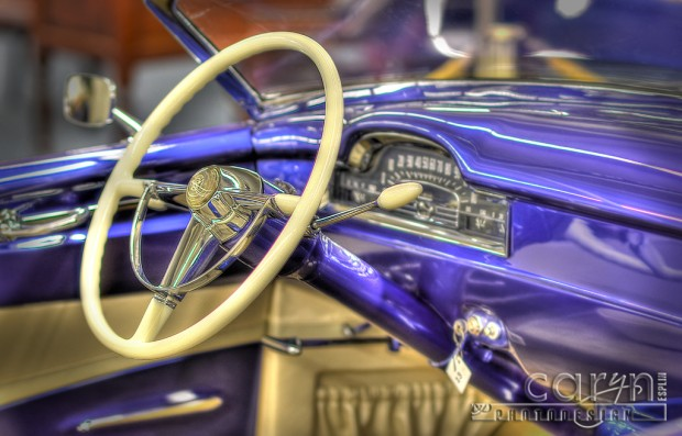 Blue Beauty at the Imperial Palace car show - Vegas