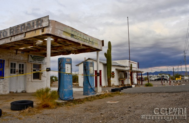 Caryn Esplin - Quartzsite, AZ - No Gas