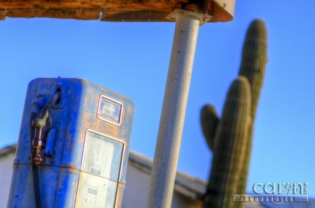 Caryn Esplin - Quartzsite, AZ - Old Pump