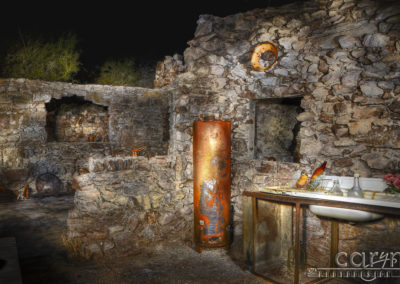 Gold Miner's Cabin – Light Painting