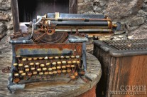Gold Miner's Typewriter