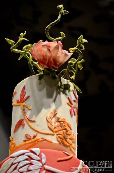 Caryn Esplin - Jean Phillippe at the Aria - Las Vegas - Flower Cake