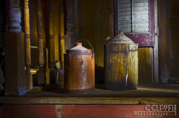Caryn Esplin - Light Painting Old Buckets
