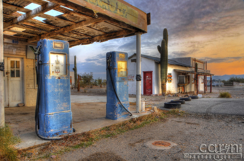 Old Gas Pumps – Triple Theat Editing: HDR + ACR + Photoshop