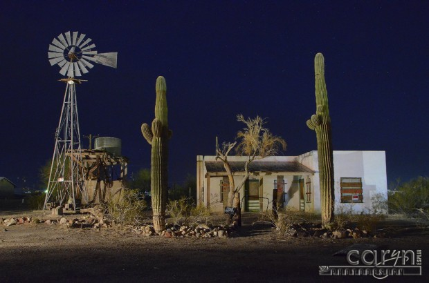 Caryn Esplin - Main Street Windmill - Quartzsite, Arizona