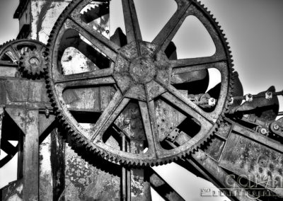 Dredge Gears – Nevada City, Montana
