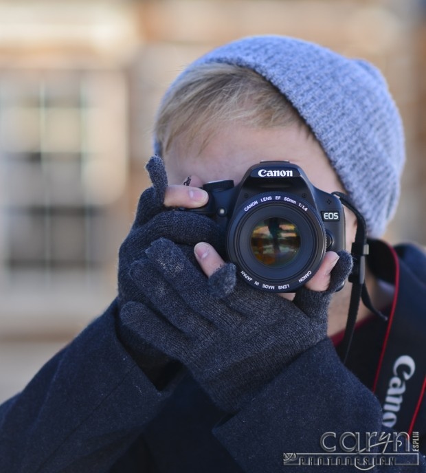 Caryn Esplin - Jason and his Canon camera