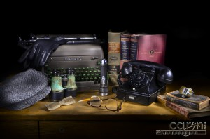 Caryn Esplin - 1940s Desk - Light Painting - Ten Steps Tutorial