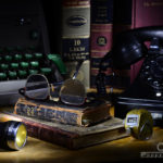 Caryn Esplin - Old 1940s Desktop - Light Painting