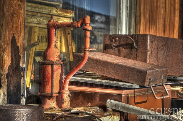Old Red Pump - Caryn Esplin - Nevada City, Montana
