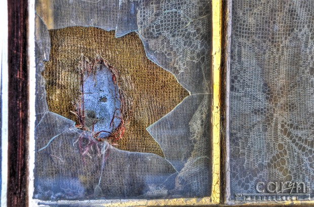 Broken Window - Virginia City, Montana - Caryn Esplin