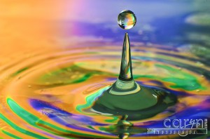 Stage 5 - The Sphere - Water Drop Photography - Caryn Esplin