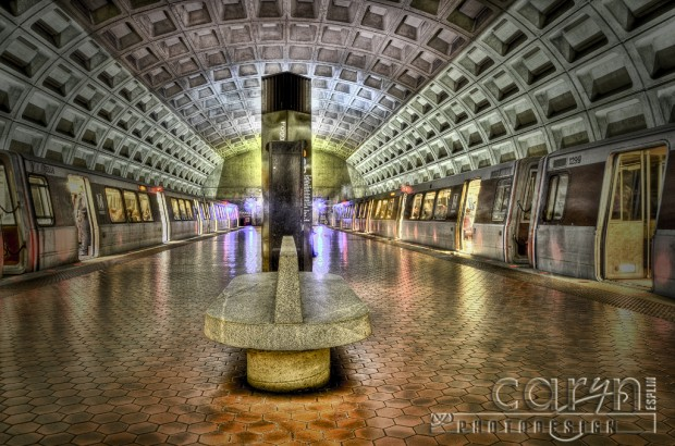 Washington DC Metro - Foggy Bottom Stop - Caryn Esplin