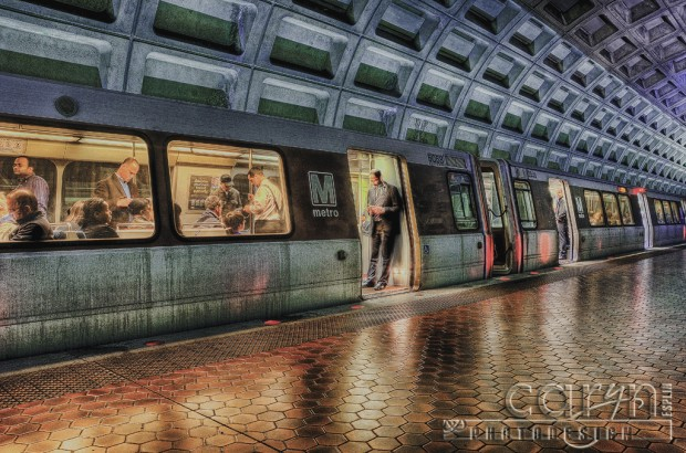 DC Metro - Foggy Bottom - Ride Home - Caryn Esplin
