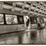 Washington DC Metro - Foggy Bottom Stop - Ride Home - Caryn Esplin