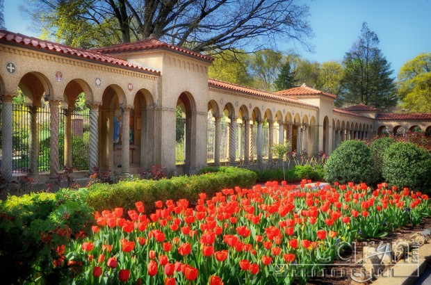 National FranciscanMonastery - Gate - Grounds - Washington D.C. - Caryn Esplin