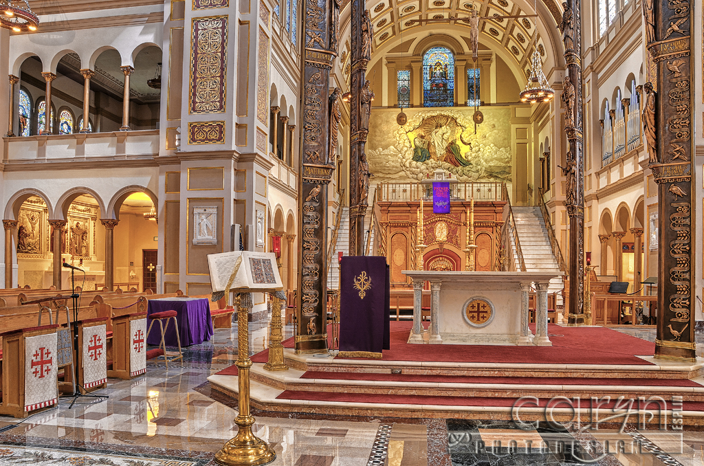 National Franciscan Monastery Stunning Interiors