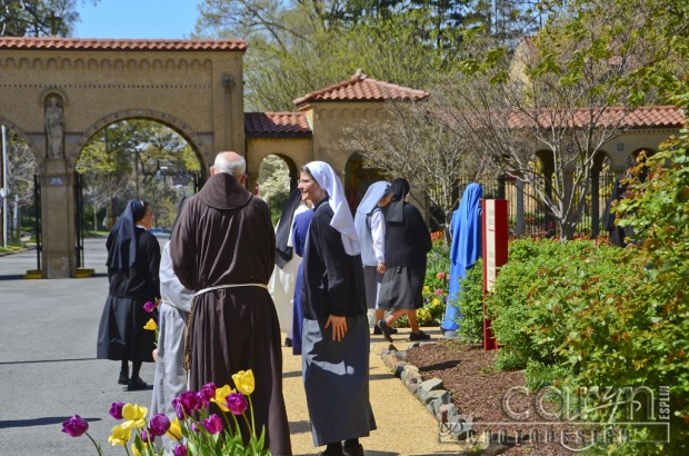Caryn Esplin - National Fransiscan Monastery - Washington D.C. - Walk