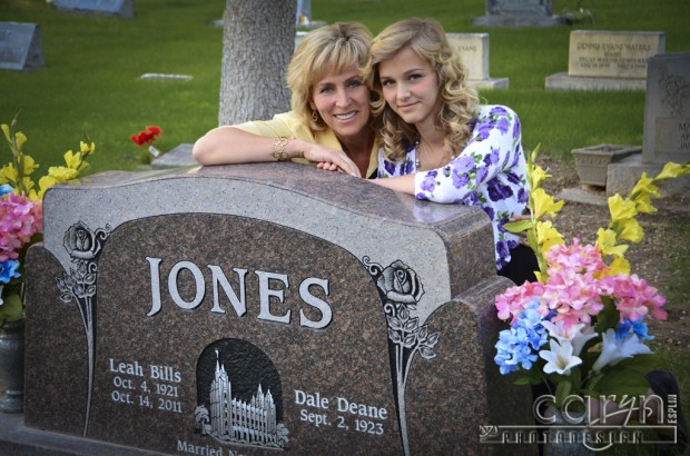 Caryn Esplin - Jones Headstone