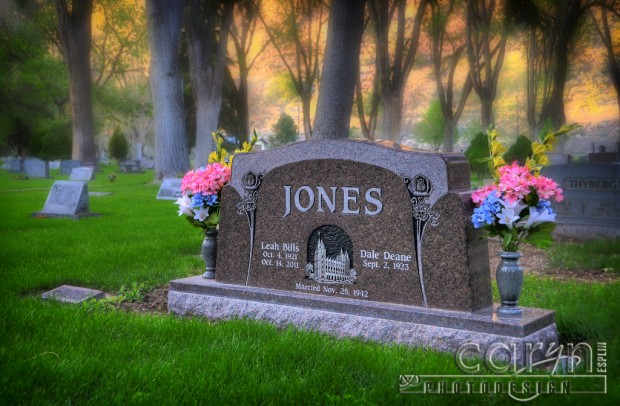 Caryn Esplin - Jones Headstone Front