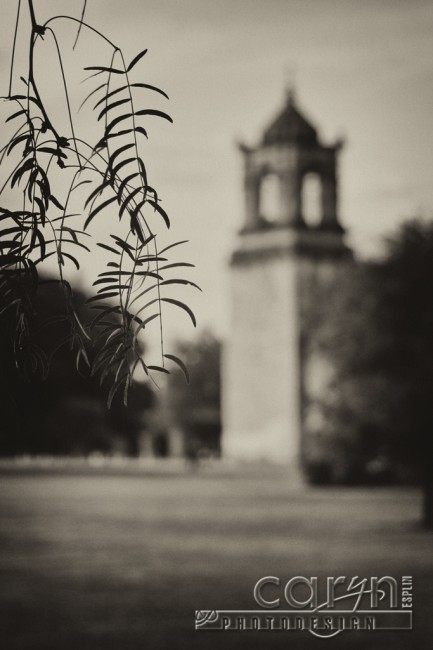 Caryn Esplin - San Juan Mission - Old Tower - San Antonio, Texas