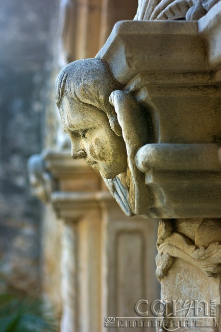 San Juan Mission - Wall Head Carving- San Antonio, Texas - Caryn Esplin