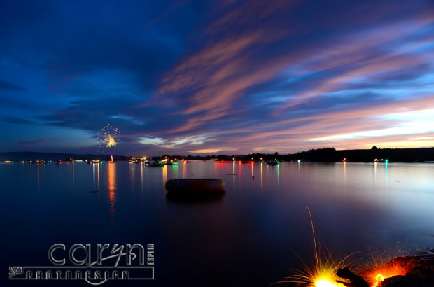 Final Reflections - July Fourth Fireworks - Island Park, Idaho - Caryn Esplin