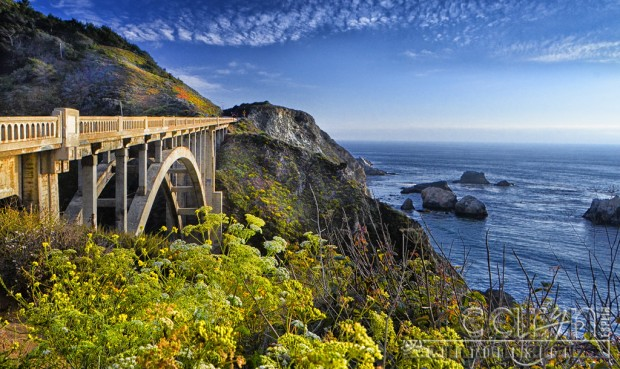 Big Sur Coast California - Rocky Creek Bridge Overlook - Caryn Esplin