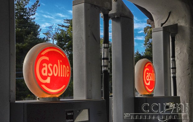 Antique Light-up Gas Pumps - Carmel Highlands General Store - Carmel, CA - Hwy 1 - Caryn Esplin