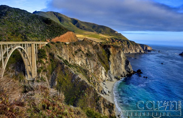 Big Sur Coastline California - Rocky Creek Bridge - Caryn Esplin