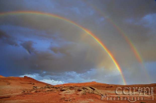 Lake Powell - Double Rainbow - Circular Polarizer - Caryn Esplin