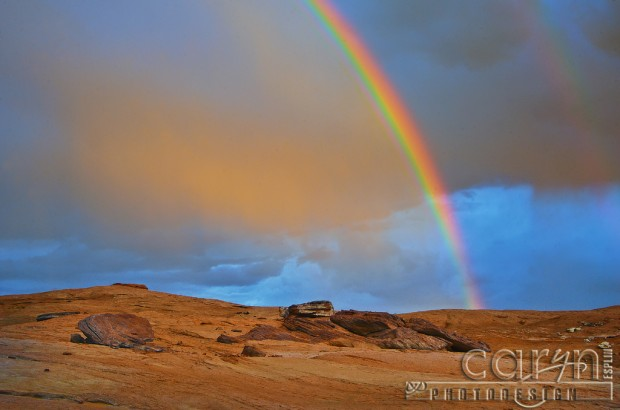 Lake Powell - Double Rainbow Glow - Circular Polarizer - Caryn Esplin