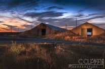 Spooky Idaho Potato Cellars at night – A light painting study