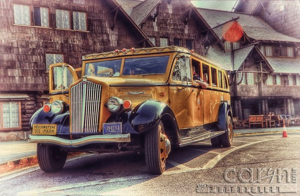 Yellowstone Historic Park Bus Tours - Old Faithful Inn - Caryn Esplin