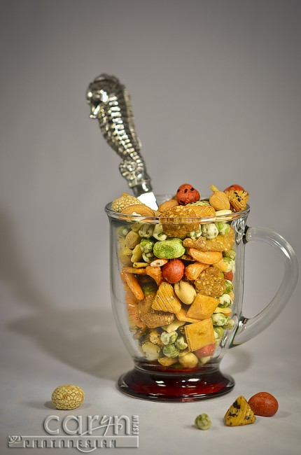 Oriental Snack Mix - Caryn Esplin - Food Photography