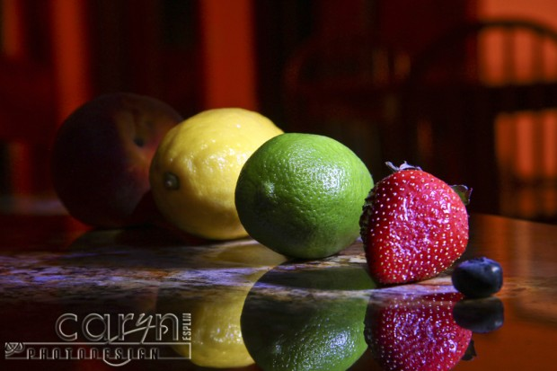 Light Painting Fruit - No Blur - Caryn Esplin