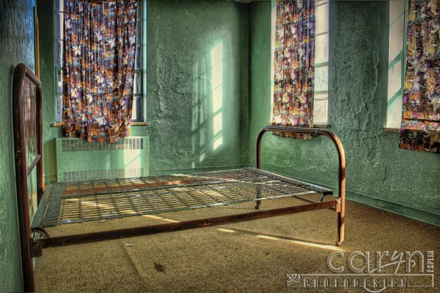 St. Anthony Girls Reformatory - Juvenile Correction Facility - Caryn Esplin - Green Room