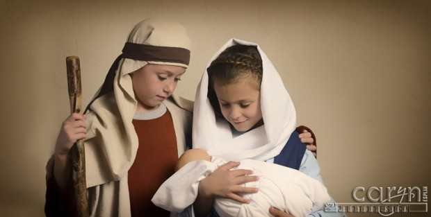 Nativity Scene - Child Role Play - Christmas - Caryn Esplin