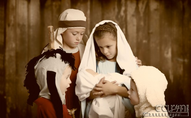 Children's Nativity - with anmials - Caryn Esplin
