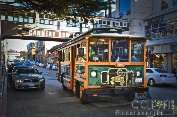 Monterey Bay - Cannery Row Trolley - San Francisco Bay Area