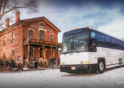 BYU-I visits Hotel Meade in Bannack Ghost Town