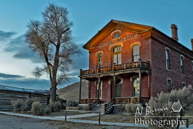 AJ  Buruca - Light Painting - Bannack