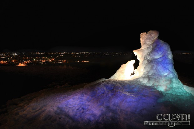 CarynEsplin-IceSculpture-LightPainting-Rexburg-MillHollow