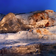 Yellowstone Mammoth Hot Springs – Panoramic Light Painting